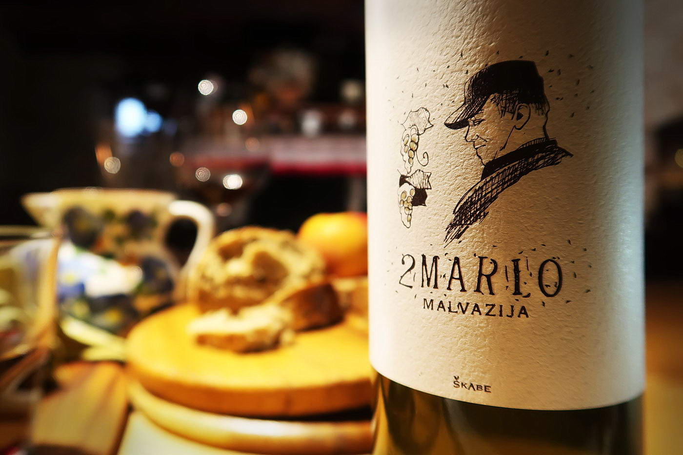 2Mario Malvazija - Natural Wine by Skabe